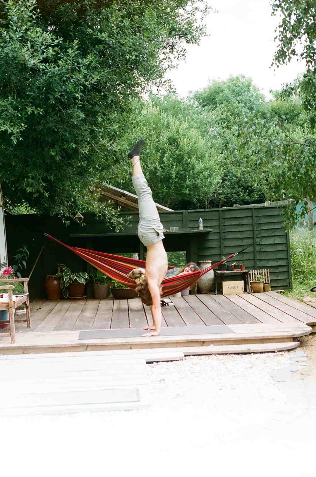 Comment fixer hamac yoga